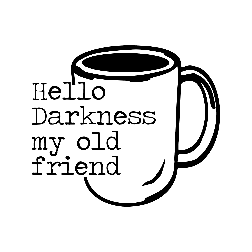 SIMON & GARFUNKEL-HELLO DARKNESS MY OLD FRIEND- COFFEE