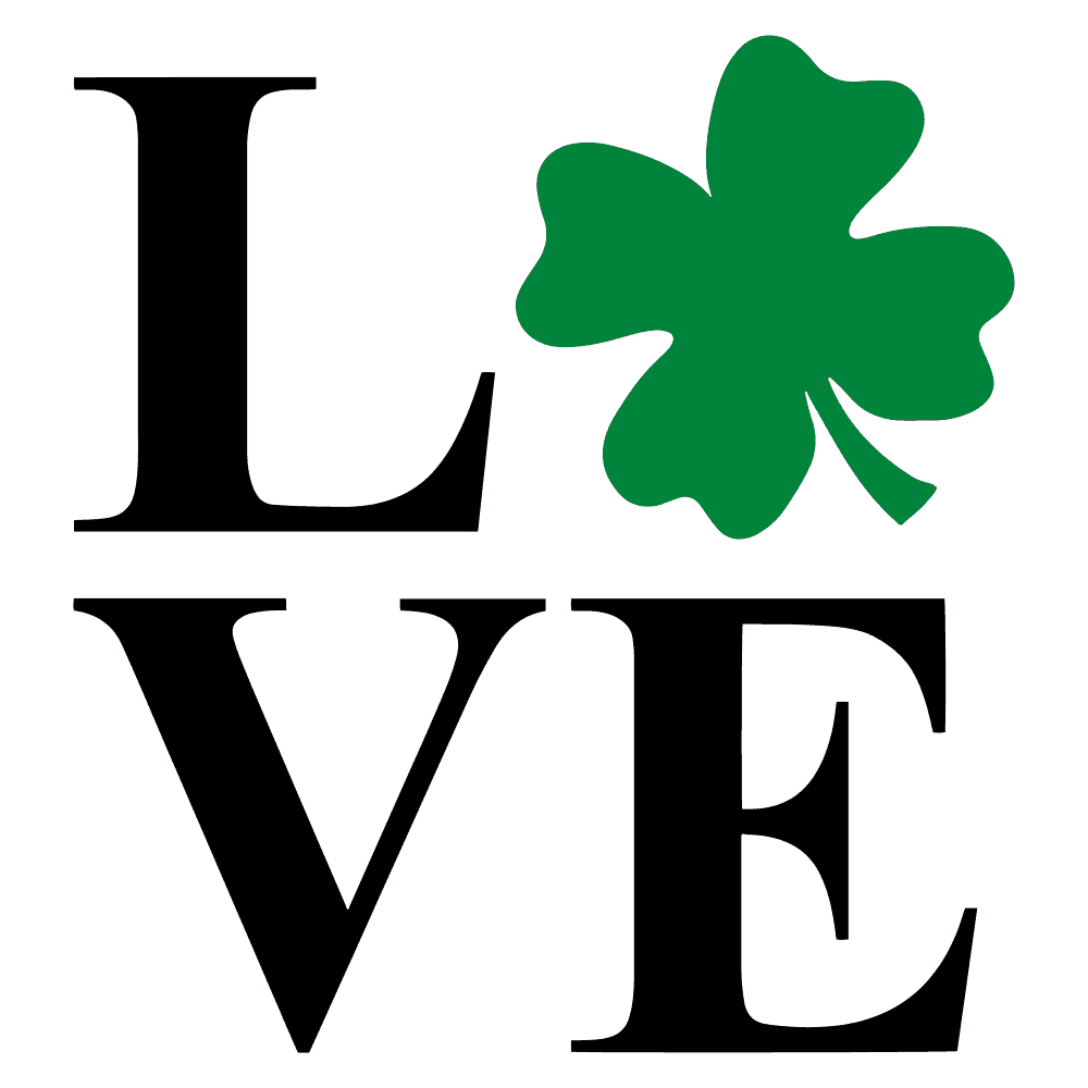 ST. PATRICK'S DAY- LOVE SHAMROCK