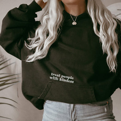 TREAT PEOPLE WITH KINDNESS <br />UNISEX HOODIE <br />classic fit