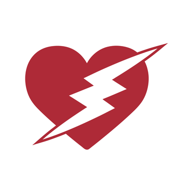 VALENTINES DAY-HEART WITH BOLT