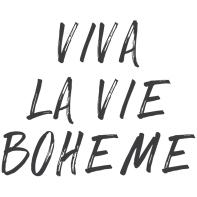 RENT- VIVA LA VIE BOHEME - humanKIND shop with a purpose