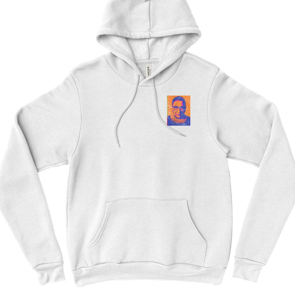 RUTH BADER GINSBURG a la WARHOL - BELLA + CANVAS FLEECE HOODIE classic fit