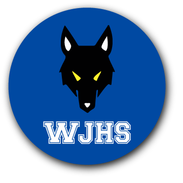WJHS WOLF MAGNET