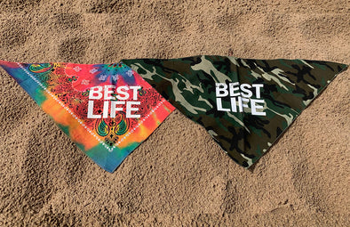 BEST LIFE <br />doggie bandana - humanKIND shop with a purpose