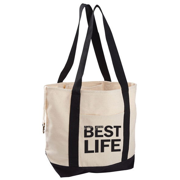 yEAHbestlife <br />organic cotton canvas boat tote <br />econcious - humanKIND shop with a purpose