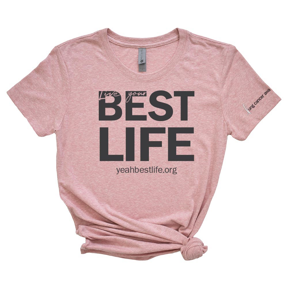 ORIGINAL LIVE YOUR BEST LIFE <br />women's triblend tee <br />slim fit