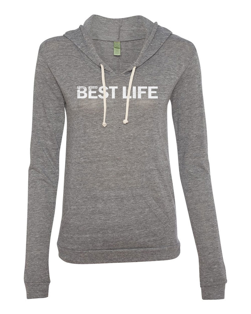 yEAHbestlife  women's eco jersey pullover hoodie - humanKIND shop with a purpose