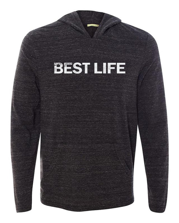 yEAHbestlife UNISEX MARATHON ECO-JERSEY® HOODED TEE <br />alternative apparel - humanKIND shop with a purpose