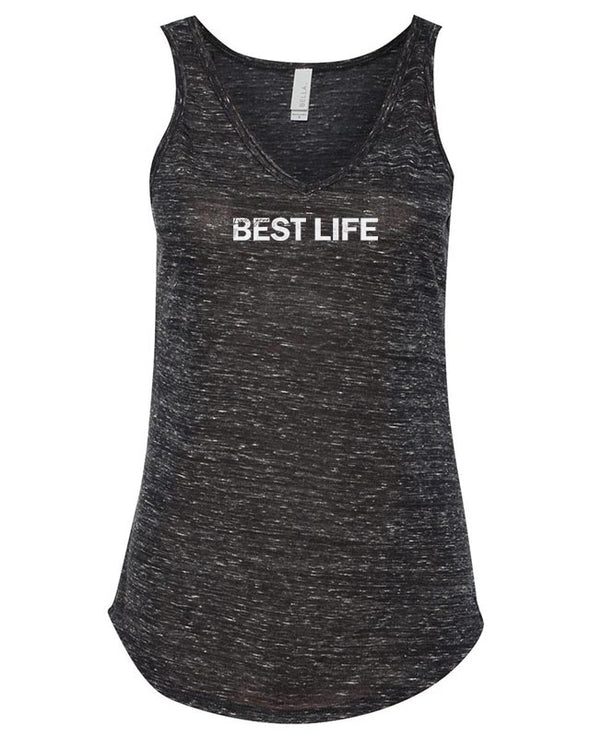 yEAHbestlife WOMEN'S FLOWY V-NECK TANK <br />bella + canvas - humanKIND shop with a purpose