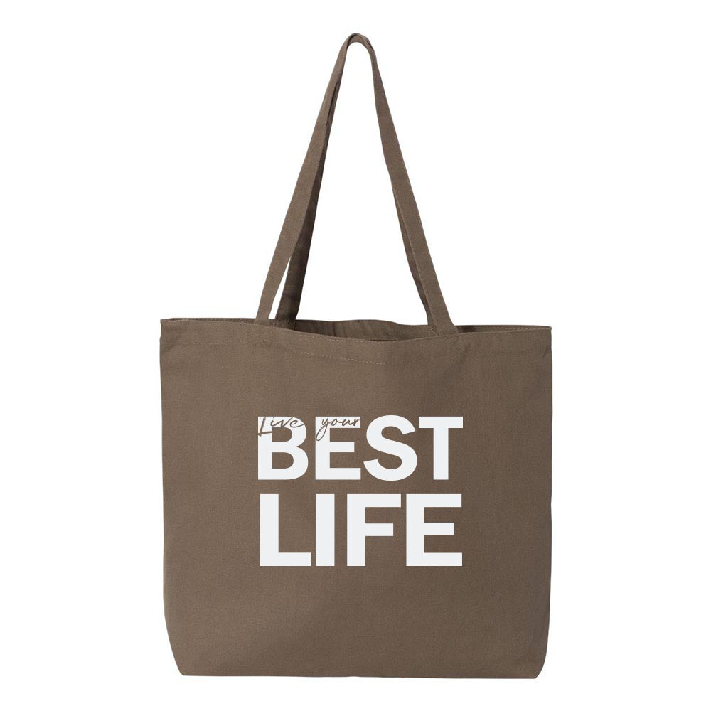 yEAHbestlife <br />Premium Canvas Tote<br />liberty bags - humanKIND shop with a purpose