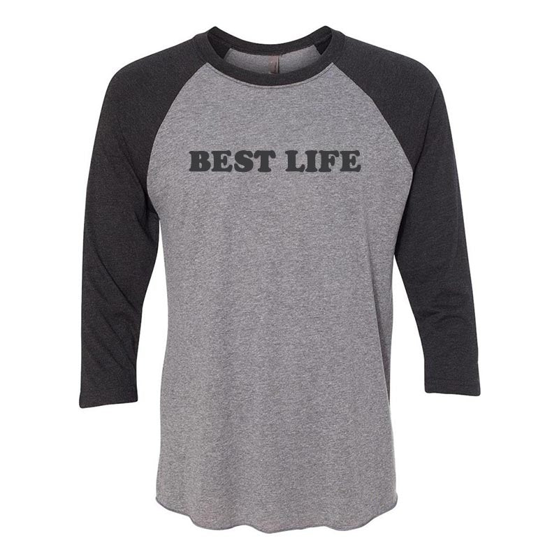 yEAHbestlife  unisex triblend raglan - humanKIND shop with a purpose