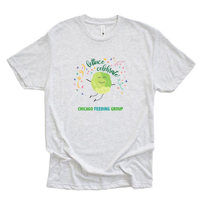 LETTUCE CELEBRATE Chicago Feeding Group <br />NEXT LEVEL UNISEX TRIBLEND TEE <br />classic fit