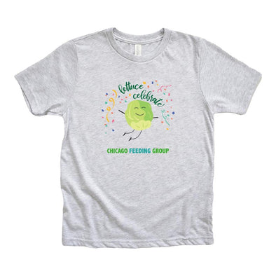 LETTUCE CELEBRATE CHICAGO FEEDING GROUP <br />NEXT LEVEL YOUTH TRIBLEND TEE <br /> classic fit