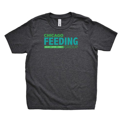 CHICAGO FEEDING GROUP <br />NEXT LEVEL YOUTH TRIBLEND TEE <br /> classic fit
