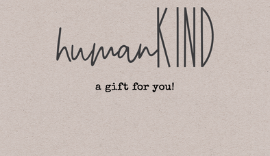Gift Card - humanKIND shop with a purpose