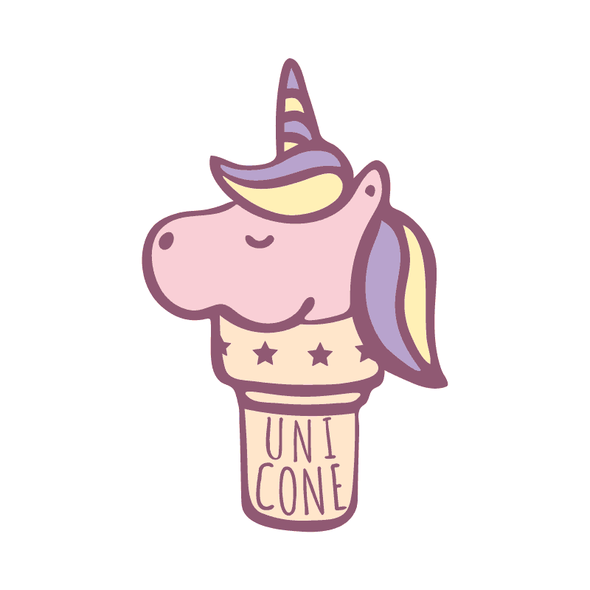 UNICONE (UNICORN + ICE CREAM CONE) - humanKIND shop with a purpose