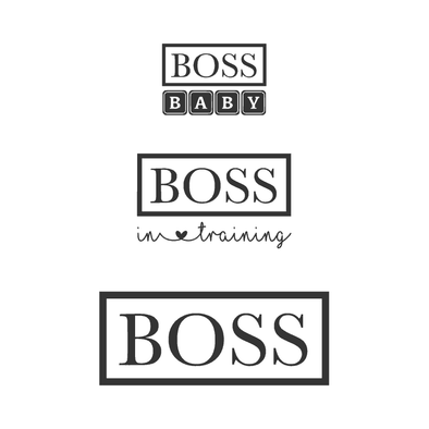 Groups Boss Baby/Boss In Training/Boss - humanKIND shop with a purpose