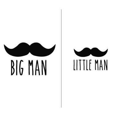 Groups Big Man/Little Man - humanKIND shop with a purpose