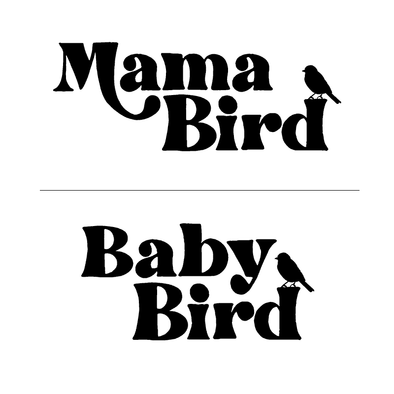 Groups Mama Bird/Baby Bird - humanKIND shop with a purpose