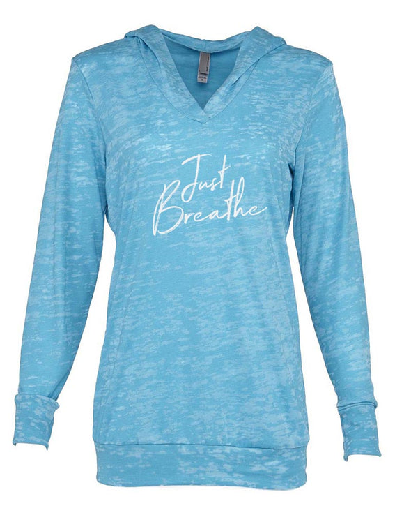 yeahBestLife LADIES' BURNOUT HOODIE <br />next level - humanKIND shop with a purpose