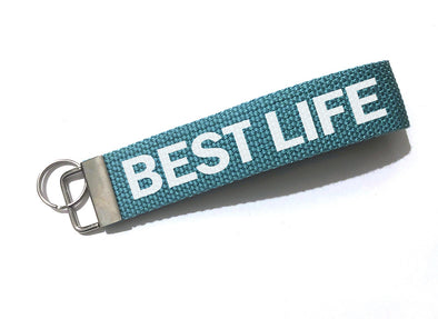 BEST LIFE <br />keychain - humanKIND shop with a purpose
