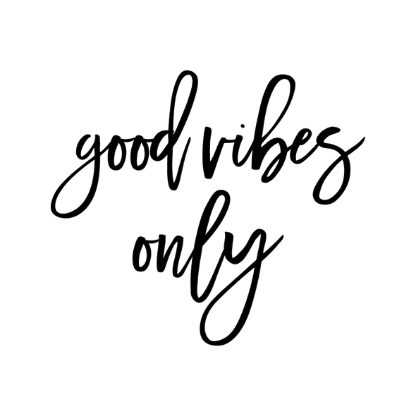 GOOD VIBES ONLY - humanKIND shop with a purpose