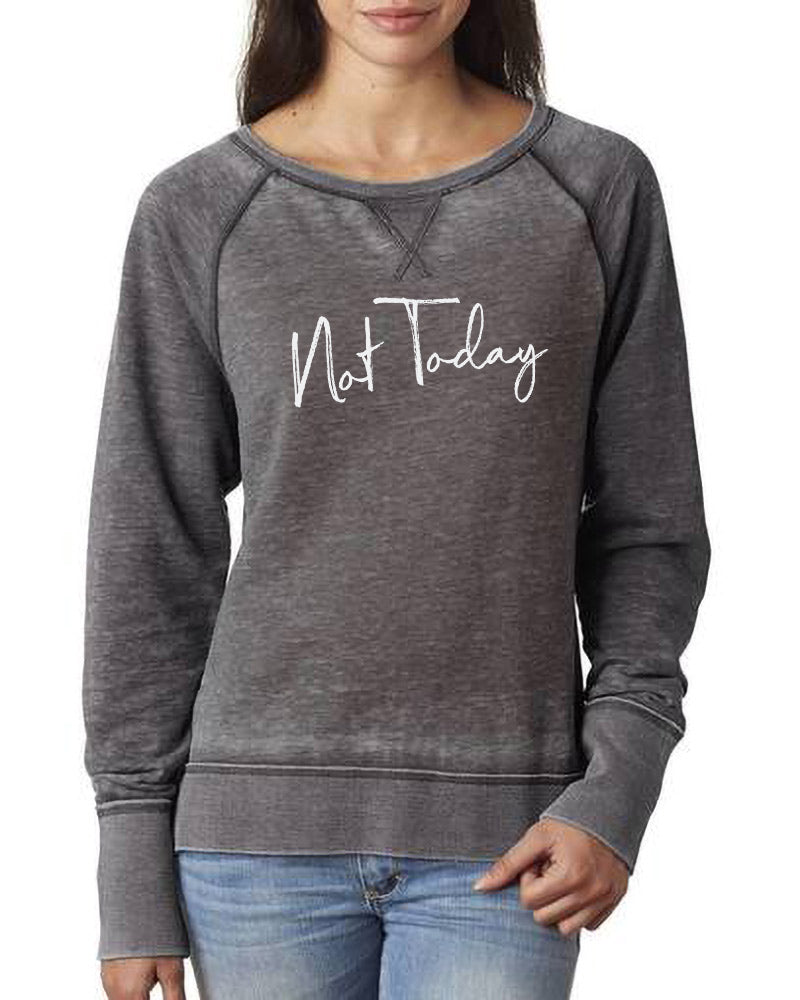 yeahBestLife JUST BREATHE LADIES' ZEN CREWNECK SWEATSHIRT <br />j. america - humanKIND shop with a purpose