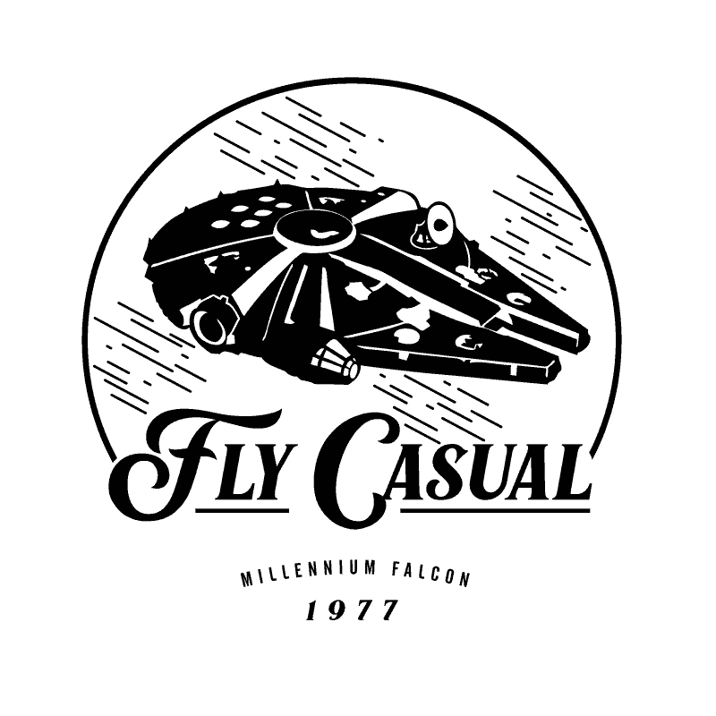STAR WARS- FLY CASUAL MILLENIUM FALCON