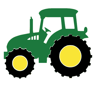 Tractor Green and Black - humanKIND shop with a purpose