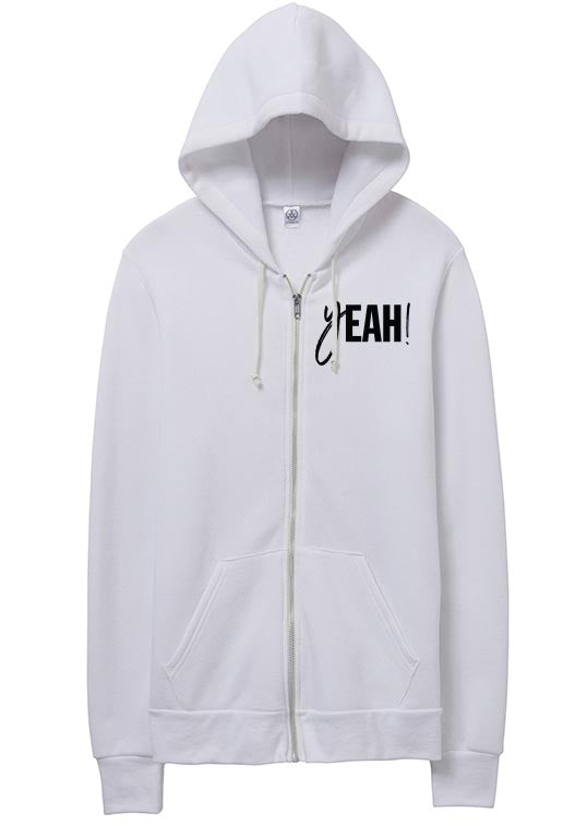 yeahBestLife <br />UNISEX ECO FLEECE ZIP HOODIE<br />alternative apparel - humanKIND shop with a purpose