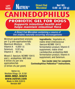 CANINEDOPHILUS - Probiotics For Dogs