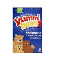 Echinacea/Vitamin C & Zinc Bears Yummi Bear 20 Chewable