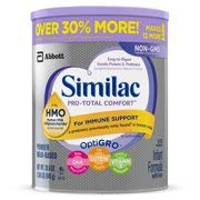 Similac Pro-Total Comfort Non-Gmo Infant Formula Powder, 29.8 Oz