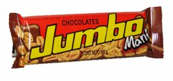 Jumbo Milk Chocolate With Peanuts Chocolate Con Leche Con Mani Net Wt 100G