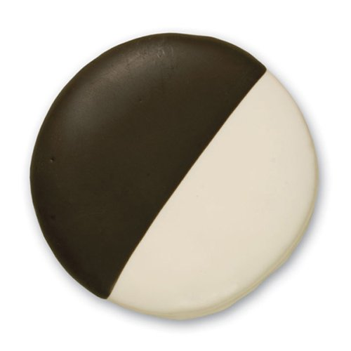 Decorated Sugar Cookies - Black And White Cookie - By Merlino Baking