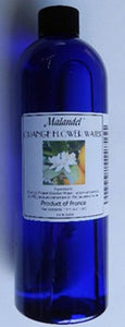 Orange Flower Water 16 Oz. Malandel