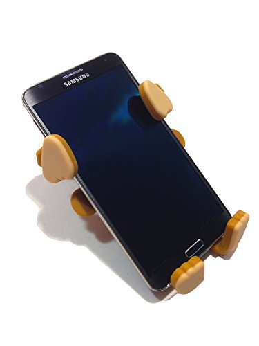 Grippy Smartphone Phone Holder By Buggygear - The Perfect Mount For Your Cellphone - This Accessory Straps To Your Stroller, Grocery Cart - Strap It Or Hang It From The Tail - Entertain Your Baby Too
