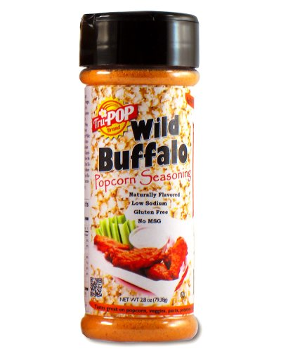 Tru-Pop Buffalo Wing Popcorn Seasoning (3 Oz)