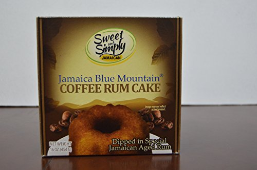 Sweet And Simply Jamaican Coffee Rum Cake 16Oz
