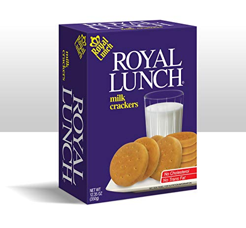 Royal Lunch Milk Crackers - 12.35Oz Each Box
