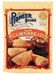 Pioneer Brand Yellow Cornbread Mix 6 Oz