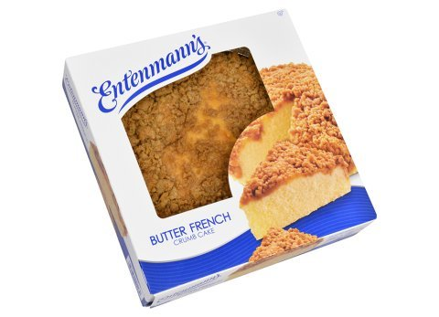 Entenmanns Crumb Cake Bundle (2 Butter French Crumb Cakes) Bonus 1 Free Entenmann'S Individually Wrapped Crumb Cake