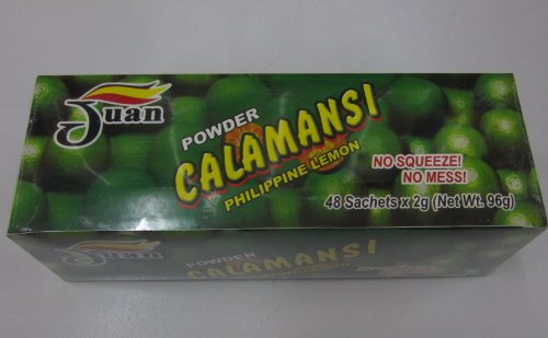 Juan Powder Calamansi Philippine Lemon 48 Sachets In A Pack Net Wt. 96G