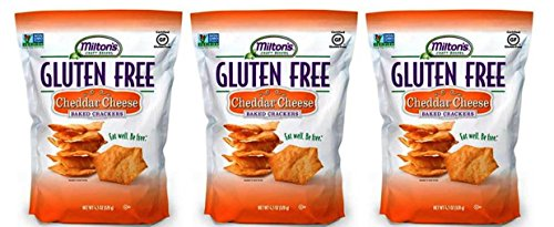 Miltons Gluten Free Baked Crackers 4.5 Oz  (Cheddar Cheese)