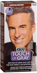 Just For Men Touch Of Gray Hair Treatment, Medium, Brown-Gray T-35