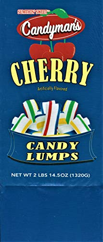 Candyman'S Individually Wrapped Hard Candy Cherry Lumps, 120 Display Box, 2 Lbs