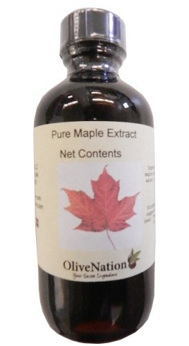 Pure Maple Extract 8 Oz. By Olivenation