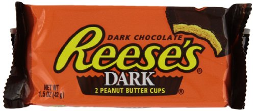 Reese'S Dark Chocolate Peanut Butter Cups, 1.5 Ounce