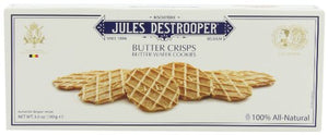 Jules Destrooper Butter Crisps, 3.5-Ounce Boxes