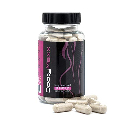Booty Maxx Pills - Butt Increase Pills - Booty Pills - Cellulite Reducer - Bigger Butt Pills For Women - Big Booty - Big Butt Boost - Butt Growth Pills - Bigger Booty Pills - Booty Maxx